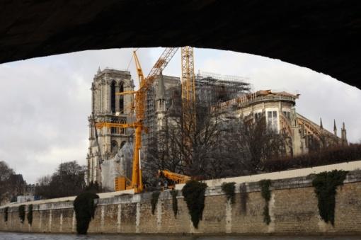 Paryžiaus katedra pirmą kartą per du šimtmečius praleis Kalėdas