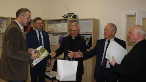 Telšių savivaldybėje lankėsi dvasininkai