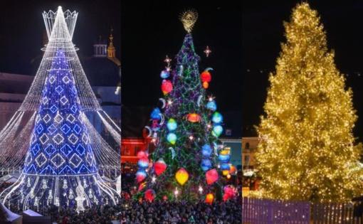 Kalėdiniams papuošimams Vilnius, Kaunas ir Klaipėda išleido per 800 tūkst. eurų