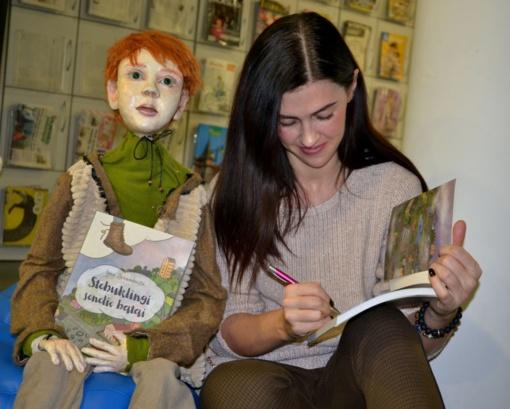 Pristatyta naujausia Ignės Zarambaitės knyga vaikams
