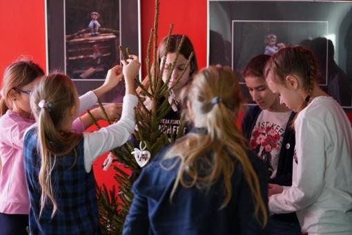 Eglučių paroda Marijampolės kultūros centre