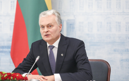 Ukrainos prezidentas dėkoja Lietuvai už nuolatinę paramą