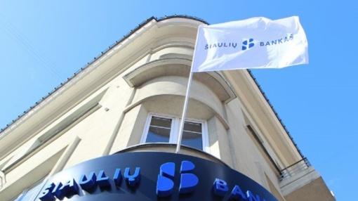 """Po inspektavimo """"Šiaulių bankui"""" skirta 880 tūkst. eurų bauda"""