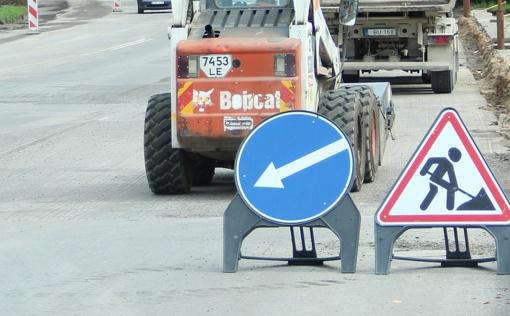 Valstybės prašoma prisidėti prie svarbių miesto gatvių atnaujinimo