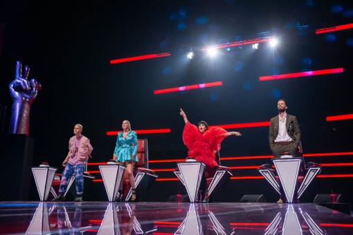 """Karščiausias mokytojų ketvertas pradeda naują """"Lietuvos balso"""" sezoną: neišvengė dramų, erzinimų ir noro vienas kitą nugalėti"""