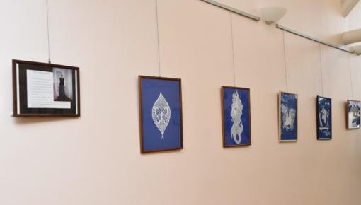 Irenos Mažeikienės karpinių paroda