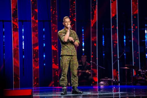 """""""Lietuvos balse"""" – karys, kuriam į glėbį puolė net muzikos žvaigždės"""