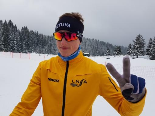 Lietuvos slidinėjimo viltis Edvinas Šimonutis: mano arkliukas – ištvermė