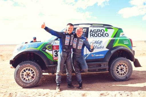 """Antrasis Dakaro ralio etapas: """"Agrorodeo"""" komanda finišą pasiekė 11-oje pozicijoje"""