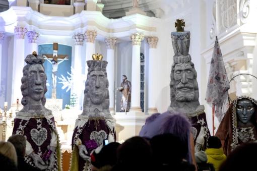 Šiauliuose Trijų karalių šventė pažymėjo kalėdinio laikotarpio pabaigą (vaizdo įrašas)