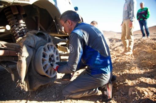 Trečiasis Dakaro etapas plėšė lietuvių padangas