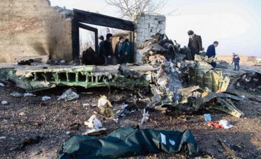 Šalies vadovai reiškia užuojautas dėl Ukrainos lėktuvo katastrofos