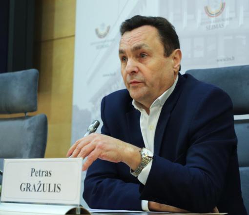 Dėl galimo persekiojimo Seimo narys P. Gražulis kreipėsi į prezidentą G. Nausėdą