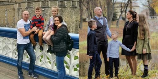 Keturiasdešimtmečius atšventusi pareigūnų šeima tiki paprastais stebuklais