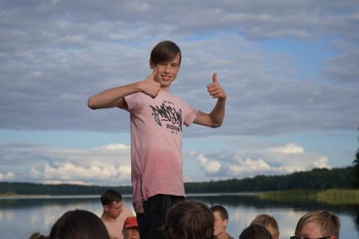 """2019 metų savanoris Patrikas Poškaitis: """"Mes galim pakeisti pasaulį!"""""""