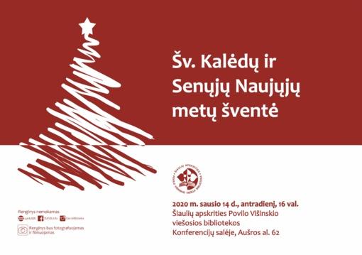 Šv. Kalėdų ir Senųjų naujųjų metų šventė