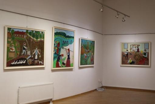 Dailininkės Magdalenos Birutės Stankūnienės paroda