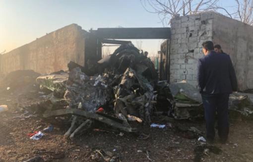 JAV žiniasklaida: Iranas per klaidą numušė Ukrainos lėktuvą