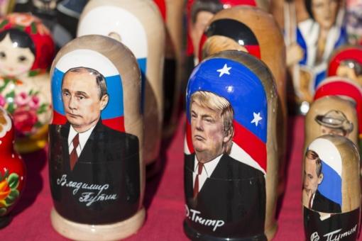 V. Putinu pasaulyje pasitikima labiau nei D. Trumpu