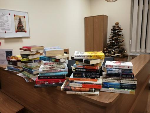 JAV ambasados dovana Švenčionių rajono savivaldybės Viešajai bibliotekai