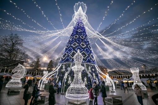 Karališkų Kalėdų sostinėje statistika: šventė daugiau nei 1 mln., išvydo 918 mln. užsienyje