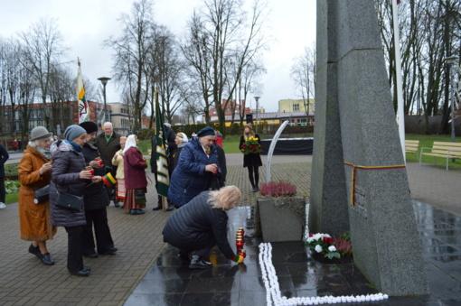 Laisvės gynėjų dieną – palangiškių pagarba žuvusiesiems už Lietuvos laisvę