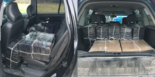 Kaišiadorių rajone kontrabandininkai neteko cigarečių krovinio
