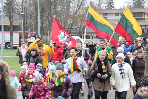 Į tradicinį bėgimą susirinko tūkstantinė druskininkiečių minia