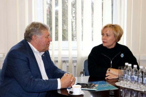 Šiaulių rajono savivaldybėje lankėsi Europos Parlamento narė Rasa Juknevičienė