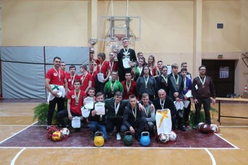 Šiaulių rajone įvyko Lietuvos mokyklų žaidynių finalinės svarsčių kilnojimo varžybos.