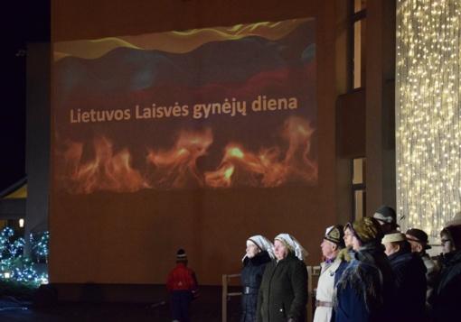 Laisvės gynėjų dienos minėjimas Vilkaviškio rajone