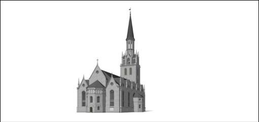 Šv. Jono bažnyčios su bokštu atkūrimas Klaipėdoje pripažintas svarbiu valstybei projektu
