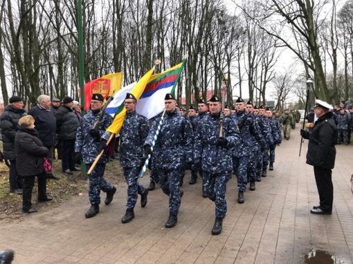 Klaipėdoje minėtos 97-osios Klaipėdos krašto prijungimo prie Lietuvos metinės