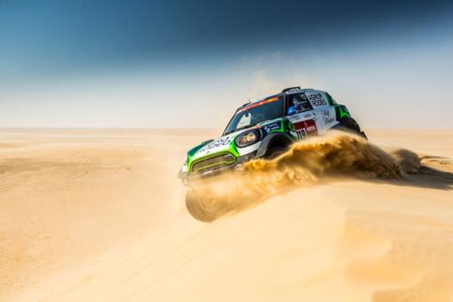 Sustabdytas 10-asis Dakaro ralio greičio ruožas