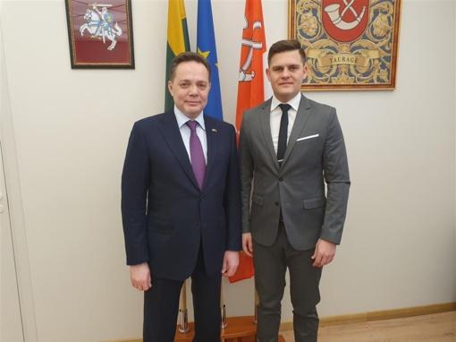 Tauragėje lankėsi Kazachstano Respublikos ambasadorius