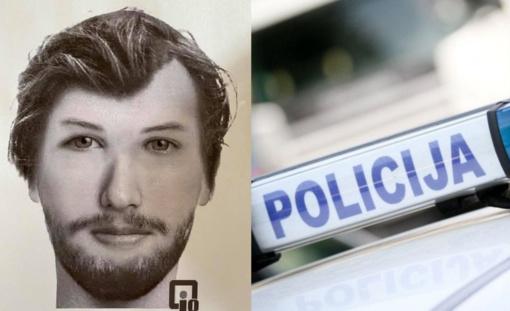 Policija gavo daug pranešimų dėl paskelbto fotoroboto, bet asmens tapatybė dar nenustatyta