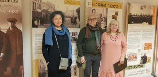 Rūdiškių bibliotekoje – paroda apie legendinį gydytoją C. Šabadą, žinomą ir daktaro Aiskaudos vardu