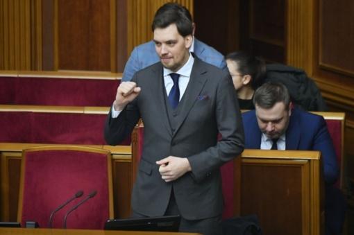 Ukrainos premjeras O. Hončarukas atsistatydina po nutekinto įrašo