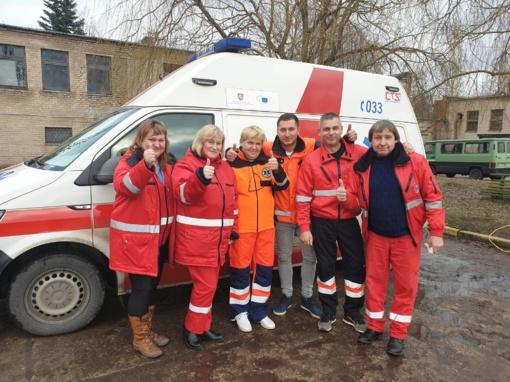 Naujojoje Akmenėje nuo klinikinės mirties išgelbėtas vyras