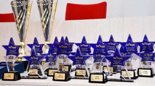 Apdovanoti geriausi Marijampolės sportininkai
