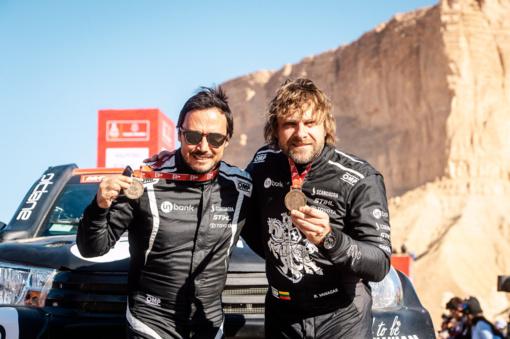 B. Vanagas šių metų Dakaro ralyje užėmė 15-ąją vietą