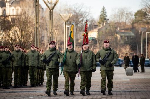 """Krašto apsaugos ministras R. Karoblis: """"Savanorių pajėgų vaidmuo šalies gynybos ir saugumo srityse yra beribis"""""""
