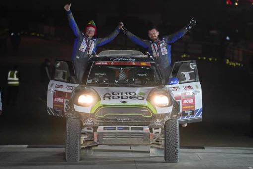"""Sunkiausias """"Agrorodeo"""" komandos finišas Dakare rezultatas subyrėjo į akmenis"""