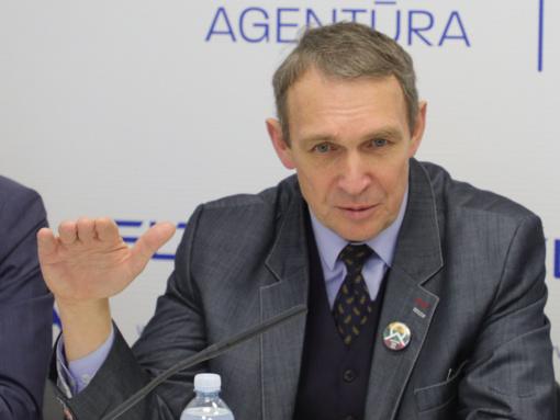 """A. Juozaitis išrinktas naujo susivienijimo """"Kartų solidarumo sąjunga-Santalka Lietuvai"""" pirmininku"""