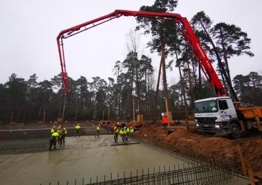 Vičiūnų vandens gerinimo įrenginių statybos sparčiai juda į priekį