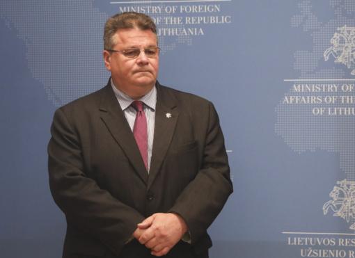 L. Linkevičius dalyvaus Užsienio reikalų tarybos posėdyje Briuselyje
