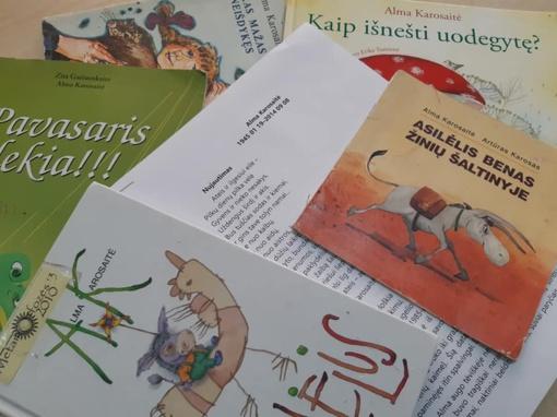 Poetės Almos Karosaitės  jubiliejus
