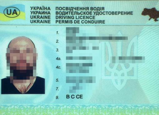 Suklastotą vairuotojo pažymėjimą turėjęs ukrainietis uždarytas į areštinę