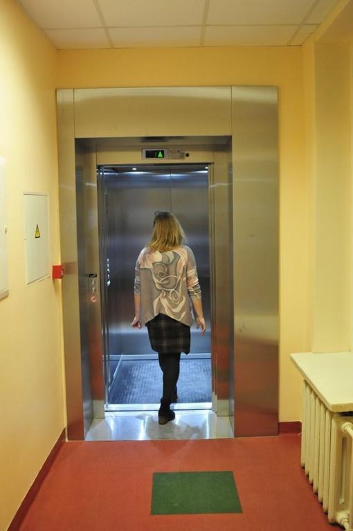 Zarasų pirminės sveikatos priežiūros centre atnaujintas liftas