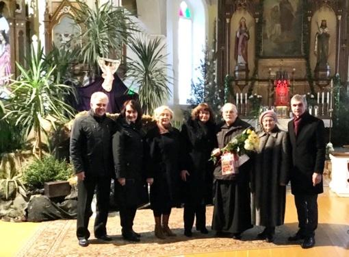 Su 85-erių metų jubiliejumi pasveikintas kunigas Julijonas Miškinis